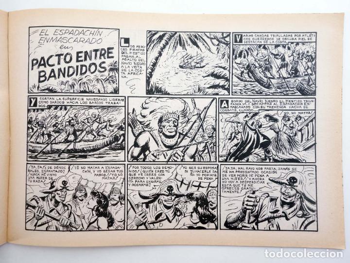 Tebeos: EL ESPADACHIN ENMASCARADO 2ª EDICIÓN 37. APARECE EL MESTIZO (Quesada / Gago) Valenciana, 1982. OFRT - Foto 4 - 220917286