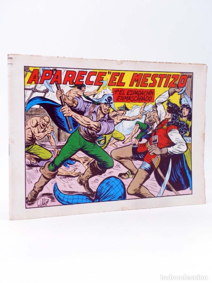 EL ESPADACHIN ENMASCARADO 2ª EDICIÓN 37. APARECE EL MESTIZO (QUESADA / GAGO) VALENCIANA, 1982. OFRT (Tebeos y Comics - Valenciana - Espadachín Enmascarado)
