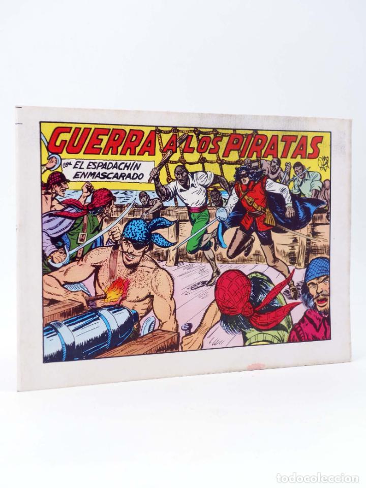 EL ESPADACHIN ENMASCARADO 2ª EDICIÓN 22. GUERRA A LOS PIRATAS (QUESADA / GAGO) 1981. OFRT (Tebeos y Comics - Valenciana - Espadachín Enmascarado)