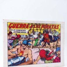 Tebeos: EL ESPADACHIN ENMASCARADO 2ª EDICIÓN 22. GUERRA A LOS PIRATAS (QUESADA / GAGO) 1981. OFRT. Lote 220917295