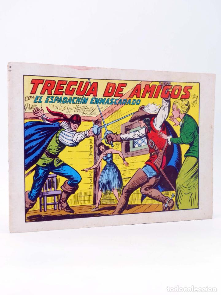EL ESPADACHIN ENMASCARADO 2ª EDICIÓN 35. TREGUA DE AMIGOS (QUESADA / GAGO) VALENCIANA, 1982. OFRT (Tebeos y Comics - Valenciana - Espadachín Enmascarado)