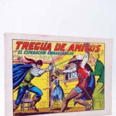Tebeos: EL ESPADACHIN ENMASCARADO 2ª EDICIÓN 35. TREGUA DE AMIGOS (QUESADA / GAGO) VALENCIANA, 1982. OFRT. Lote 220917298