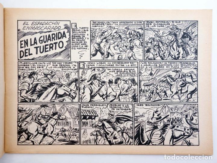 Tebeos: EL ESPADACHIN ENMASCARADO 2ª EDICIÓN 45. EN LA GUARIDA DEL TUERTO (Quesada / Gago) 1982. OFRT - Foto 3 - 220917310