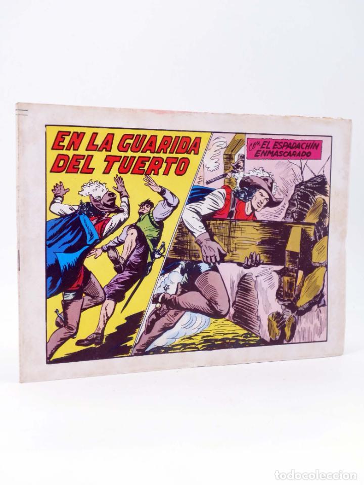 EL ESPADACHIN ENMASCARADO 2ª EDICIÓN 45. EN LA GUARIDA DEL TUERTO (QUESADA / GAGO) 1982. OFRT (Tebeos y Comics - Valenciana - Espadachín Enmascarado)