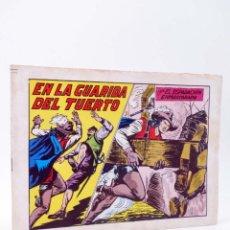 Tebeos: EL ESPADACHIN ENMASCARADO 2ª EDICIÓN 45. EN LA GUARIDA DEL TUERTO (QUESADA / GAGO) 1982. OFRT. Lote 220917310
