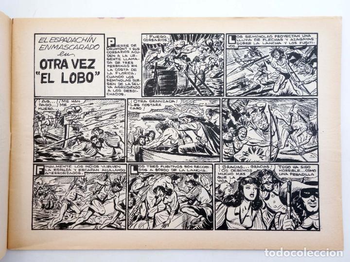 Tebeos: EL ESPADACHIN ENMASCARADO 2ª EDICIÓN 31. OTRA VEZ EL LOBO (Quesada / Gago) Valenciana, 1981. OFRT - Foto 3 - 220917323