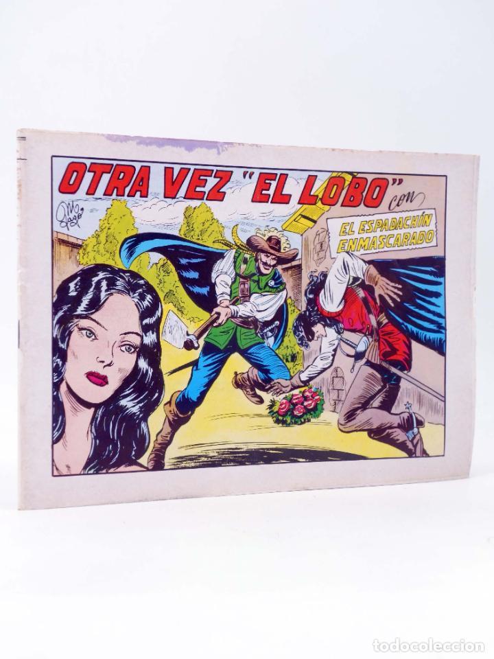 EL ESPADACHIN ENMASCARADO 2ª EDICIÓN 31. OTRA VEZ EL LOBO (QUESADA / GAGO) VALENCIANA, 1981. OFRT (Tebeos y Comics - Valenciana - Espadachín Enmascarado)