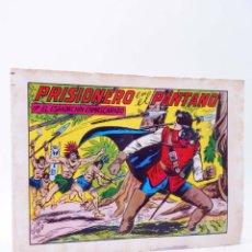 Tebeos: EL ESPADACHIN ENMASCARADO 2ª EDICIÓN 32. PRISIONERO EN EL PANTANO (QUESADA / GAGO) 1981. OFRT. Lote 220917325