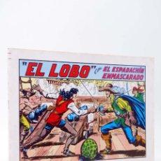 Tebeos: EL ESPADACHIN ENMASCARADO 2ª EDICIÓN 20. EL LOBO (QUESADA / GAGO) VALENCIANA, 1981. OFRT. Lote 220917333