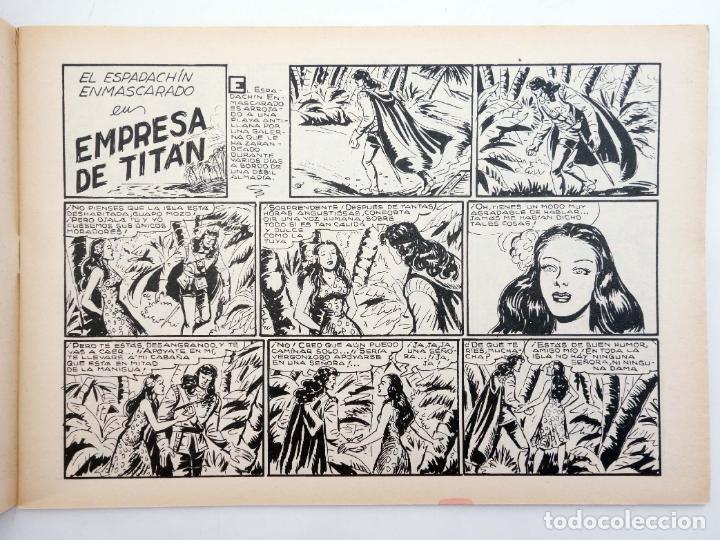 Tebeos: EL ESPADACHIN ENMASCARADO 2ª EDICIÓN 21. EMPRESA DE TITÁN (Quesada / Gago) Valenciana, 1981. OFRT - Foto 3 - 220917335