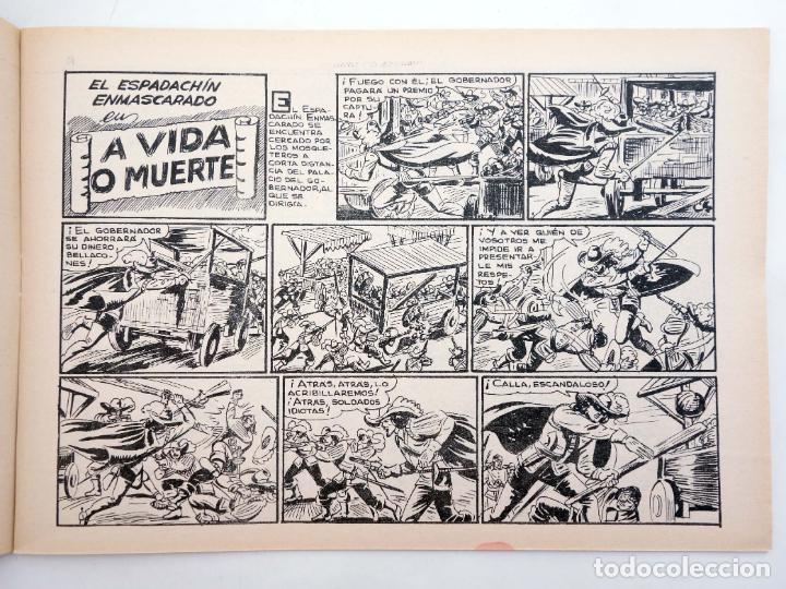 Tebeos: EL ESPADACHIN ENMASCARADO 2ª EDICIÓN 21. EMPRESA DE TITÁN (Quesada / Gago) Valenciana, 1981. OFRT - Foto 4 - 220917335