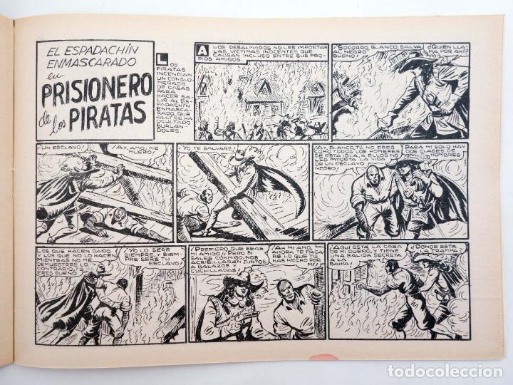 Tebeos: EL ESPADACHIN ENMASCARADO 2ª EDICIÓN 21. EMPRESA DE TITÁN (Quesada / Gago) Valenciana, 1981. OFRT - Foto 5 - 220917335