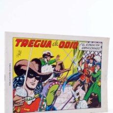 Tebeos: EL ESPADACHIN ENMASCARADO 2ª EDICIÓN 5. TREGUA DE ODIO (QUESADA / GAGO) VALENCIANA, 1981. OFRT. Lote 220917336