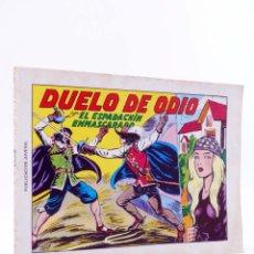 Tebeos: EL ESPADACHIN ENMASCARADO 2ª EDICIÓN 6. DUELO DE ODIO (QUESADA / GAGO) VALENCIANA, 1981. OFRT. Lote 220917338