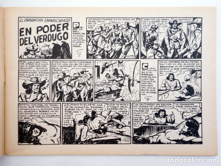 Tebeos: EL ESPADACHIN ENMASCARADO 2ª EDICIÓN 8. EN PODER DEL VERDUGO (Quesada / Gago) Valenciana, 1981. OFRT - Foto 3 - 220917340