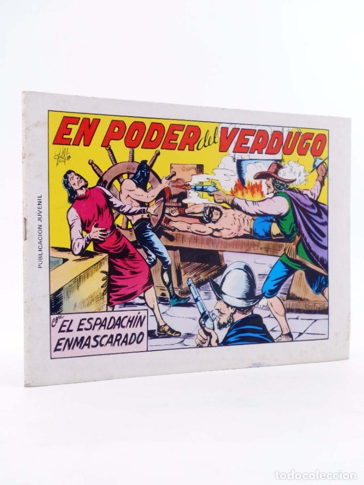 EL ESPADACHIN ENMASCARADO 2ª EDICIÓN 8. EN PODER DEL VERDUGO (QUESADA / GAGO) VALENCIANA, 1981. OFRT (Tebeos y Comics - Valenciana - Espadachín Enmascarado)