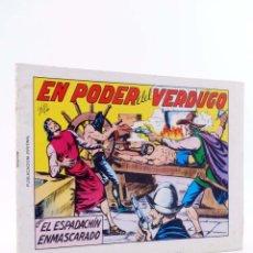 Tebeos: EL ESPADACHIN ENMASCARADO 2ª EDICIÓN 8. EN PODER DEL VERDUGO (QUESADA / GAGO) VALENCIANA, 1981. OFRT. Lote 220917340