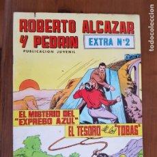 Tebeos: TEBEO/CÓMIC ROBERTO ALCÁZAR Y PEDRÍN EXTRA N 2 VALENCIANA ORIGINAL. Lote 220919126