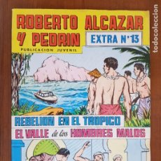Tebeos: TEBEO/CÓMIC ROBERTO ALCÁZAR Y PEDRÍN EXTRA N 13 VALENCIANA ORIGINAL. Lote 220919443