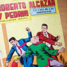 Tebeos: ROBERTO ALCÁZAR Y PEDRÍN, EN LA CASA DE LAS SORPRESAS- Nº 145, EDITORIAL VALENCIANA 2ª EPOCA 1978. Lote 221072175