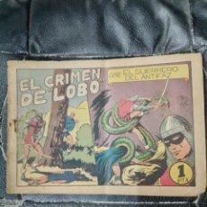 Tebeos: EL CRIMEN DEL LOBO ORIGINAL EL GUERRERO DEL ANTIFAZ. Lote 221101930