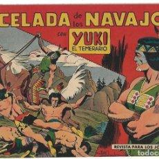 Tebeos: YUKI EL TEMERARIO Nº 10, VALENCIANA 1958, ORIGINAL -- LEER TODO. Lote 221107786