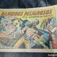 Tebeos: BANDIDOS PELIGROSOS ORIGINAL EL GUERRERO DEL ANTIFAZ Nº 544. Lote 221108123