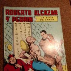 Tebeos: COMIC DE ROBERTO ALCAZAR Y PEDRIN EN LA FURIA DE BAKER Nº 8. Lote 221122982