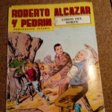 Tebeos: COMIC DE ROBERTO ALCAZAR Y PEDRIN EN LOBOS DEL NORTE Nº 175. Lote 221127117