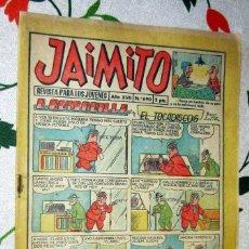 Tebeos: JAIMITO Nº 690 , EDITORIAL VALENCIANA EN BUEN ESTADO. Lote 221129772