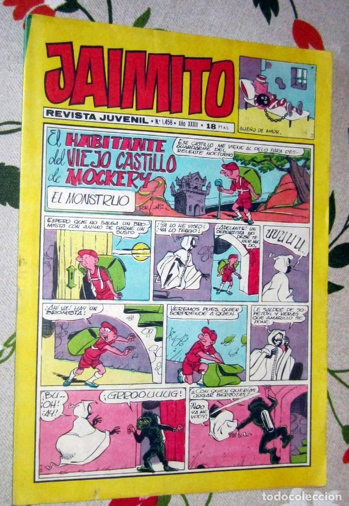 JAIMITO Nº 1.458 , EDITORIAL VALENCIANA EN BUEN ESTADO (Tebeos y Comics - Valenciana - Jaimito)