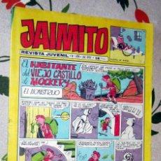 Tebeos: JAIMITO Nº 1.458 , EDITORIAL VALENCIANA EN BUEN ESTADO. Lote 221129942