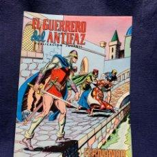Livros de Banda Desenhada: EL GUERRERO DEL ANTIFAZ Nº197 FERNANDO PRISIONERO PUBLICACION JUVENIL ED EDIVAL 1976 VALENCIA. Lote 221140593