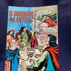 Tebeos: EL GUERRERO DEL ANTIFAZ Nº195 DESENMASCARADOS PUBLICACION JUVENIL ED EDIVAL 1976 VALENCIA. Lote 221140722