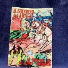 Livros de Banda Desenhada: EL GUERRERO DEL ANTIFAZ Nº194 LA CAUTIVA DE LA TORRE PUBLICACION JUVENIL ED EDIVAL 1976 VALENCIA. Lote 221140895
