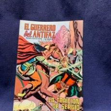 Livros de Banda Desenhada: EL GUERRERO DEL ANTIFAZ Nº193 LA TRAICION DE SERGIO PUBLICACION JUVENIL ED EDIVAL 1976 VALENCIA. Lote 221141983