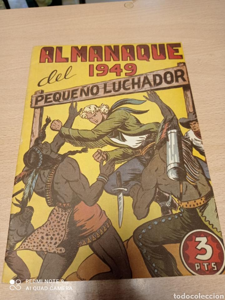 EL PEQUEÑO LUCHADOR ALMANAQUE 1949 - FACSIMIL (Tebeos y Comics - Valenciana - Pequeño Luchador)