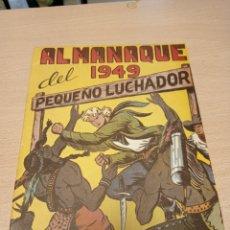 Tebeos: EL PEQUEÑO LUCHADOR ALMANAQUE 1949 - FACSIMIL. Lote 221278752