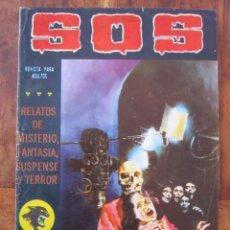 Tebeos: SOS HISTORIAS DE TERROR, INTRIGA, MISTERIO Y SUSPENSE NUM. 11 SEGUNDA EPOCA.ED. VALENCIANA. Lote 221306916