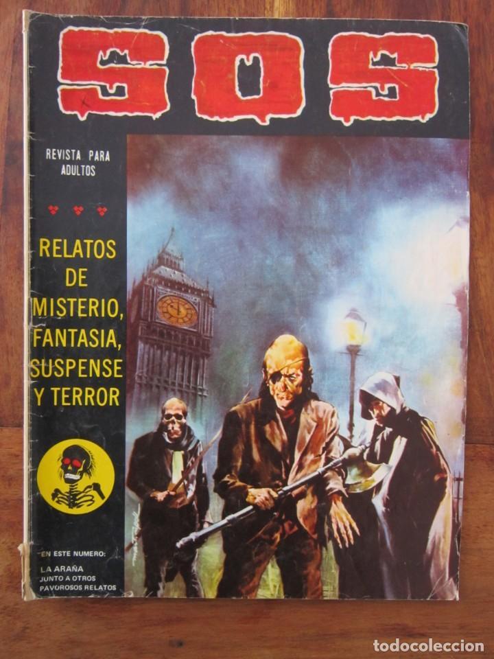 SOS HISTORIAS DE TERROR, INTRIGA, MISTERIO Y SUSPENSE NUM. 8 SEGUNDA EPOCA.ED. VALENCIANA (Tebeos y Comics - Valenciana - S.O.S)