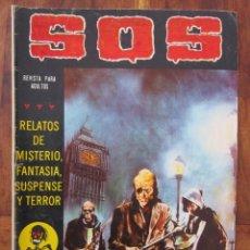 Tebeos: SOS HISTORIAS DE TERROR, INTRIGA, MISTERIO Y SUSPENSE NUM. 8 SEGUNDA EPOCA.ED. VALENCIANA. Lote 221306973