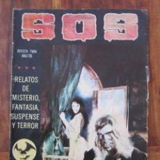Tebeos: SOS HISTORIAS DE TERROR, INTRIGA, MISTERIO Y SUSPENSE NUM. 6 SEGUNDA EPOCA.ED. VALENCIANA. Lote 221307022