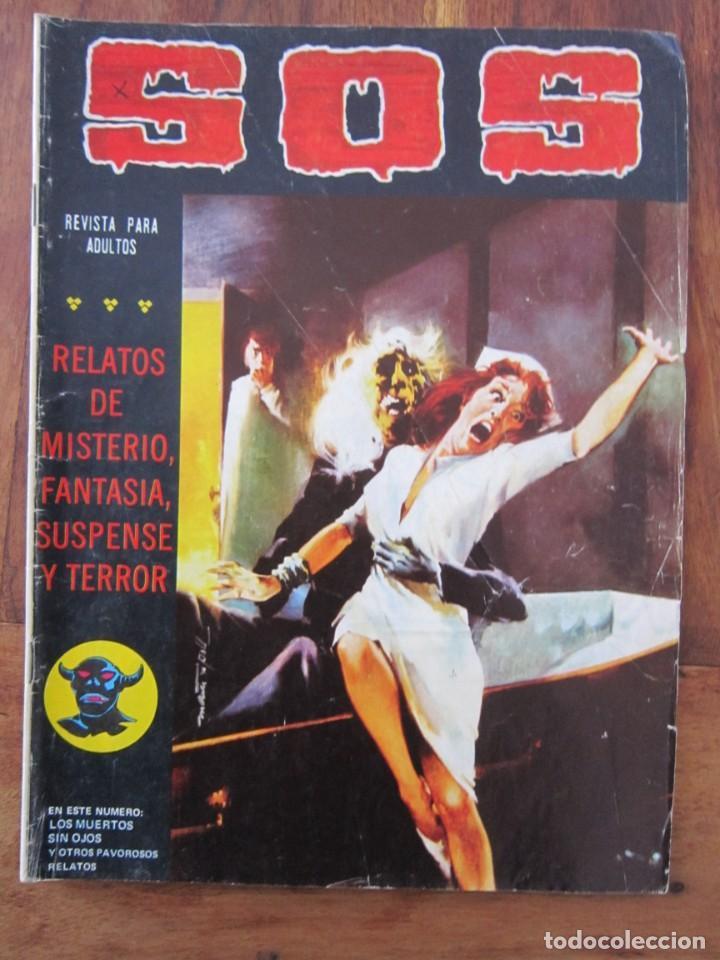 SOS HISTORIAS DE TERROR, INTRIGA, MISTERIO Y SUSPENSE NUM. 5 SEGUNDA EPOCA.ED. VALENCIANA (Tebeos y Comics - Valenciana - S.O.S)