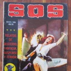 Tebeos: SOS HISTORIAS DE TERROR, INTRIGA, MISTERIO Y SUSPENSE NUM. 5 SEGUNDA EPOCA.ED. VALENCIANA. Lote 221307090