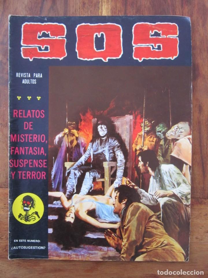 SOS HISTORIAS DE TERROR, INTRIGA, MISTERIO Y SUSPENSE NUM. 4 SEGUNDA EPOCA.ED. VALENCIANA (Tebeos y Comics - Valenciana - S.O.S)