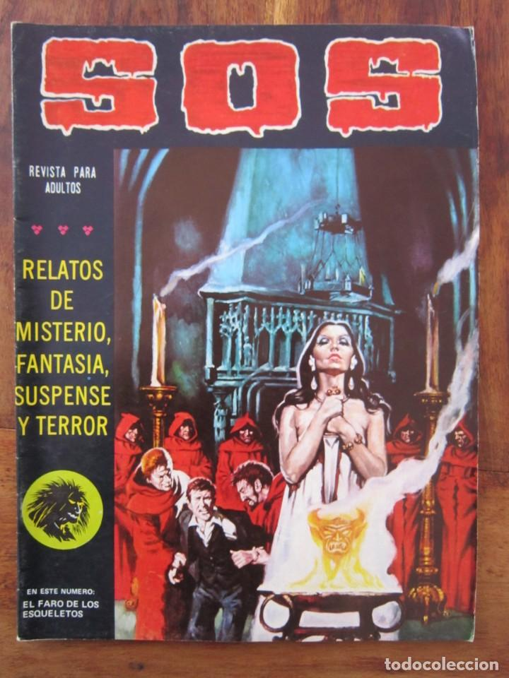 SOS HISTORIAS DE TERROR, INTRIGA, MISTERIO Y SUSPENSE NUM. 3 SEGUNDA EPOCA.ED. VALENCIANA (Tebeos y Comics - Valenciana - S.O.S)