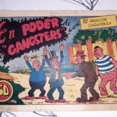 Tebeos: EL PROFESOR CARAMBOLA N°4 , EDITORIAL VALENCIANA , AYNE. Lote 221407815