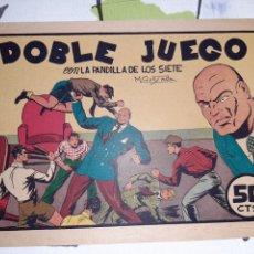 Tebeos: DOBLE JUEGO, LA PANDILLA DE LOS 7 N° 20, ORIGINAL Y COMO NUEVO. Lote 221408945