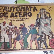 Tebeos: EL AUTÓMATA DE ACERO, LA PANDILLA DE LOS SIETE N° 8, ORIGINAL , BUEN ESTADO. Lote 221409660