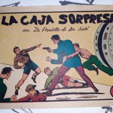 Tebeos: LA CAJA DE SORPRESAS, LA PANDILLA DE LOS SIETE N° 17, ORIGINAL Y COMO NUEVO. Lote 221410058